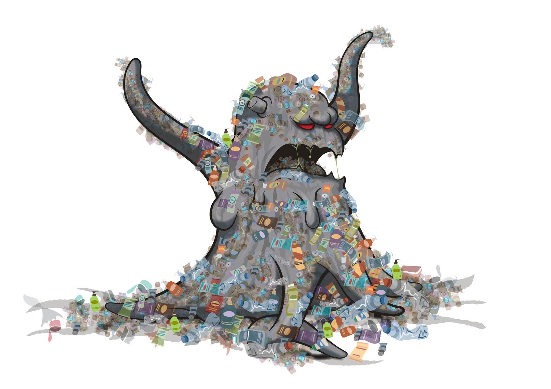 Greenpeace Plastic Monster \u2013 Brand strategy and design